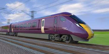 Now with ETCS: visual of Class 810 bi-mode to be built by Hitachi for East Midlands Railway.